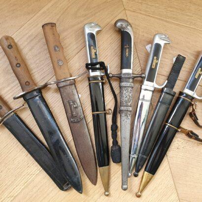 Pugnali e daghe militari